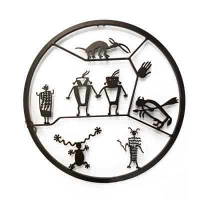 Petroglyph Circle by Doug Weigel