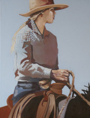 """Grace</em>Peggy Judy <br />31.5"""" x 25.5"""" by Peggy Judy 31.5"""" x 25.5""""oil on canvas"""