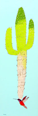 "Whistle While You Work</em>Trevor Mikula<br />60"" x 20"" by Trevor Mikula60"" x 20""acrylic on canvas"