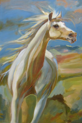 "Joyspell</em>Chaille Trevor<br />36"" x 24"" by Chaille Trevor36"" x 24""oil on canvas$1,575"