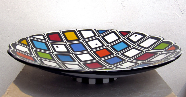 Stripes and Solids Bowl by