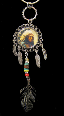 Silver Chief Pendant </em>Kathryn Blackmun<br / > by